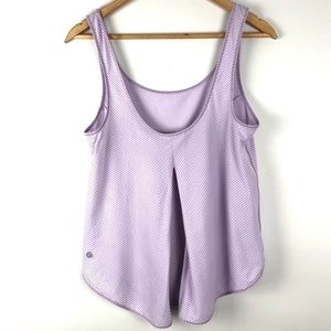 Lululemon Purple Straight Up Singlet Tank